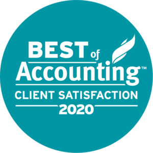 ClearlyRated 2020 Best of Accounting logo