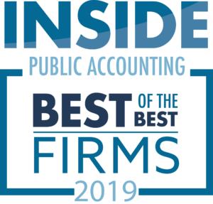 2019 IPA Best of the Best Accounting Firms logo