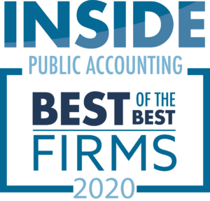 2020 IPA Best of the Best Accounting Firms logo