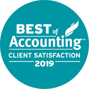 ClearlyRated 2019 Best of Accounting logo