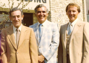 Irwin Katz, Ted, Sapper, & Curt Miller