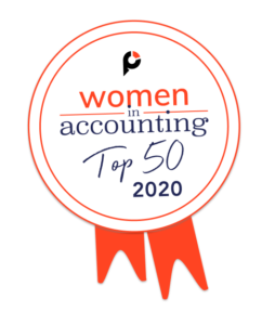 2020 Top 50 Women in Accounting Award